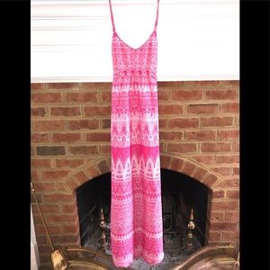 CHARLIE JADE pink maxi dress NWOT!
